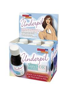UNDERPIL OIL POST-DEPIL EXPOSITOR  6u x 125ML LAD