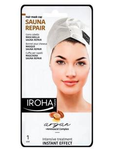 IROHA SAUNA REPAIR CAP MASC.CABELL ARGAN (15) SEN