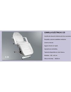 CAMILLA ELECTRICA 3 PARTS  NEGRA E-25    BOR