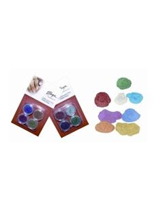 KIT GLITTER UNGLES ESTEL 4 colors   THU