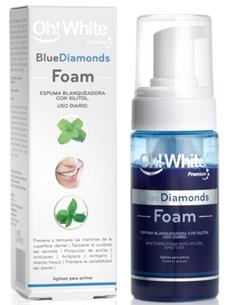 ESCUMA MOONWHITE+ 100ml BLUE DIAMONDS  OHW