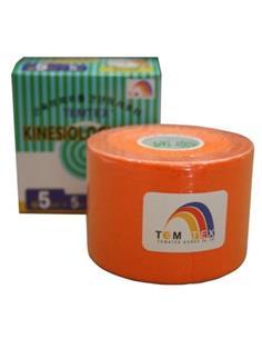 KINESIO-TAPE 5cmX5m TARONJA  TEMTEX   BIO