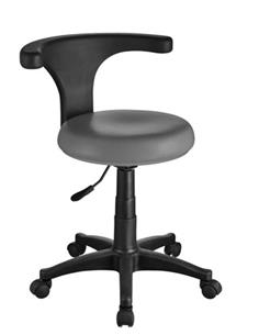 TABURET ERGO PODIATRY STOOL DARK GREY 1028 WEE