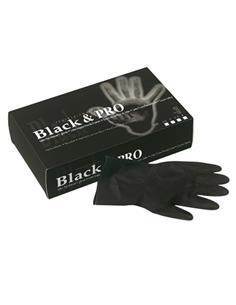 GUANTS LATEX NEGRE REUTZ(BLACK) P 20u 094000154SIN