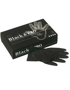 GUANTS LATEX NEGRE REUTZ(BLACK) G 20u 094000156SIN