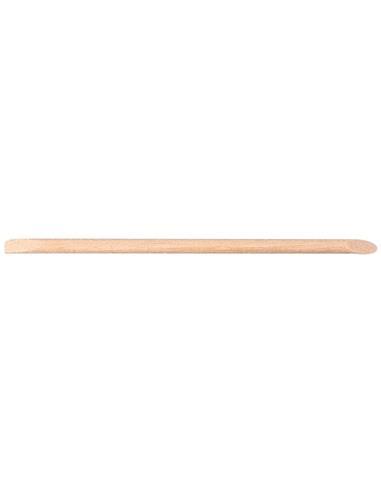 BAIXA CUTICULES FUSTA 10cm  10u  (TARONGER)  SIN