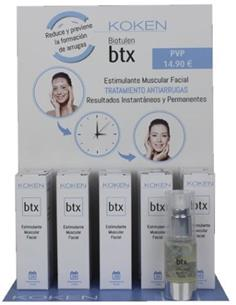 EXPOSITOR BTX ESTIM. MUSCULAR FACIAL 10u 20ml KOK