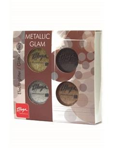 KIT METALLIC GLAM EFECTE GLITTER   THU