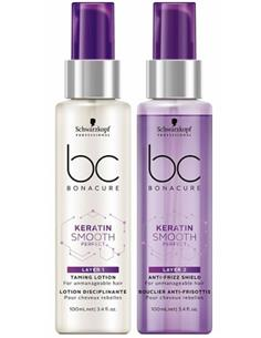 BC KERATIN SMOOTH DOBLE CAPA 2X50ML SCH