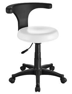TAMBORET ERGO PODIATRY STOOL BLANC 1028B WEE