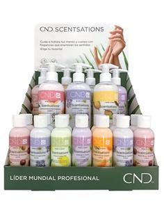 SCENTSATIONS EXPOSITOR 7x254ML + 14x59ML CND