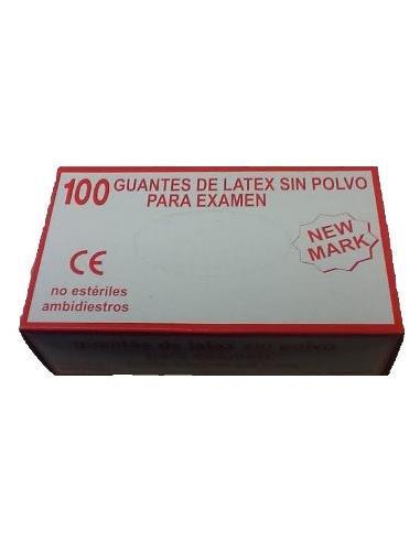GUANTS LATEX S/POLS TALLA P  392-PS 100u (10) LAD