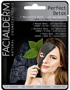 FACIALDERM BLACK TISSUE MASK DETOX (15) SEN