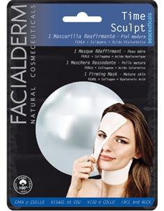 FACIALDERM TIS.MASK F&N TIME SCULPT PEARL (15) SEN