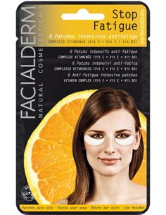 FACIALDERM EYE PADS STOP FATIGUE VITAMIN 6u(24)SEN