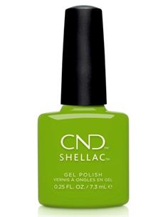 SHELLAC CRISP GREEN AUTUMN ADDICT 7,3ml CND