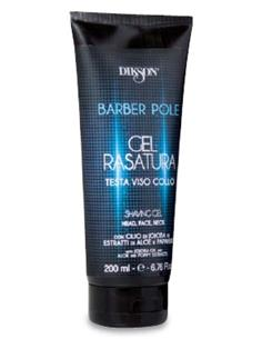 BARBER POLE GEL RASATURA AFAITAR TUB 200ml    DIK