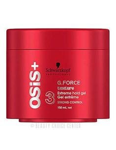 OSIS G.FORCE 150ml GEL EXTRA FORT (16)   SCH
