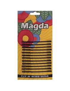 CLIP MAGDA NEGRE RECTE+BOL. 6,5cm 12u    (24)  FA