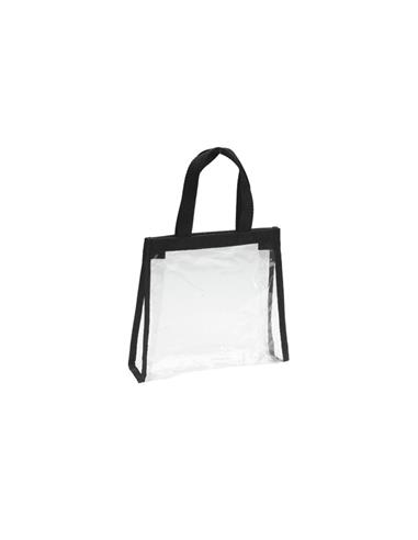 BOSSA DE MA MINI BEACH TRANSPARENT RBT NEGRE SIN