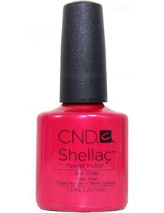 SHELLAC HOT CHILLIS (ROJO) 7,3ml CND