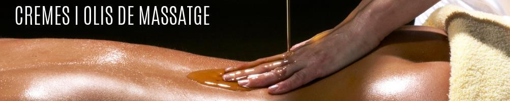 Cremes i olis massatge