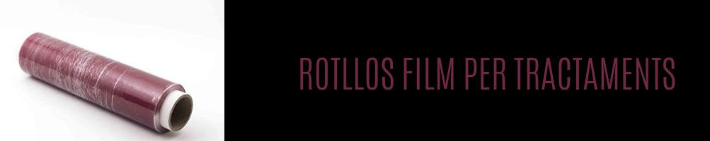 Rotllos film tractaments