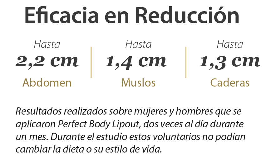 Eficacia Perfect Lipout